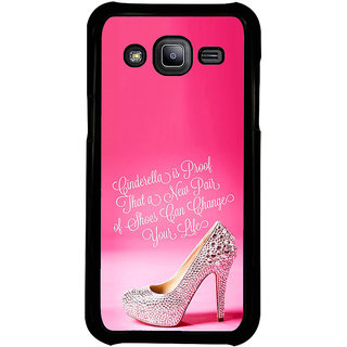 ifasho life changing quote Back Case Cover for Samsung Galaxy J2