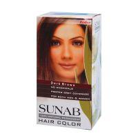 Radico Sunab Herbal Dark Brown Hair Color - 60gm