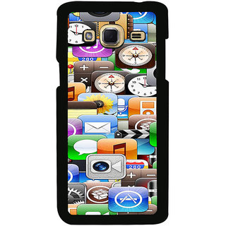 ifasho Modern  animated Design Pattern mobiles camera Back Case Cover for Samsung Galaxy J3