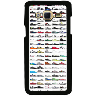ifasho Animated Design  Many shoes Back Case Cover for Samsung Galaxy J3