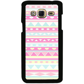 ifasho multi color Triangular and love Pattern Back Case Cover for Samsung Galaxy J3