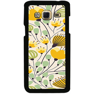 ifasho Animated Pattern colrful flower with leaves Back Case Cover for Samsung Galaxy J3