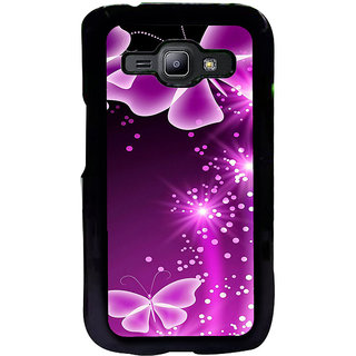 ifasho Butterfly Back Case Cover for Samsung Galaxy J1