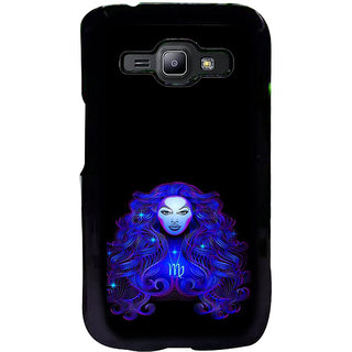 ifasho zodiac sign virgo Back Case Cover for Samsung Galaxy J1