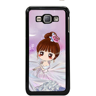 ifasho Princess Girl Back Case Cover for Samsung Galaxy J1 (2016 Edition)