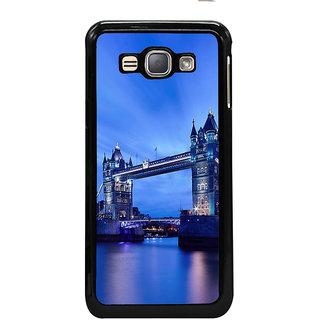 ifasho London Bridge Back Case Cover for Samsung Galaxy J1 (2016 Edition)