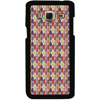 ifasho Animated Pattern colrful design leaves Back Case Cover for Samsung Galaxy J3