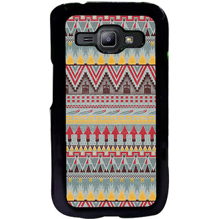 ifasho Animated Pattern colrful tribal design Back Case Cover for Samsung Galaxy J1