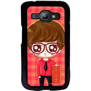 ifasho Crazy Boy Back Case Cover for Samsung Galaxy J1