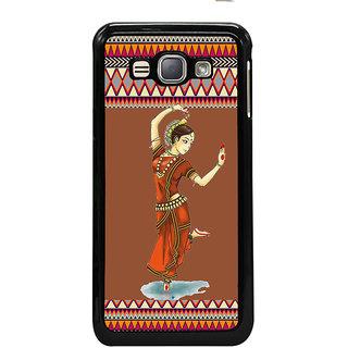 ifasho Odishi dance Back Case Cover for Samsung Galaxy J1 (2016 Edition)