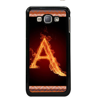 ifasho alphabet name series A Back Case Cover for Samsung Galaxy J1 (2016 Edition)