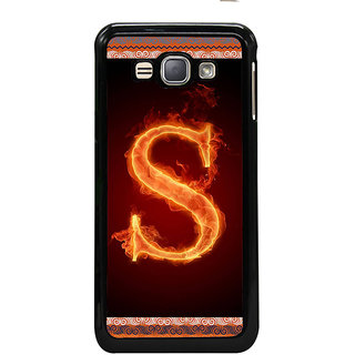 ifasho alphabet name series S Back Case Cover for Samsung Galaxy J1 (2016 Edition)