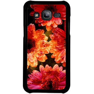 ifasho Flowers Back Case Cover for Samsung Galaxy J2