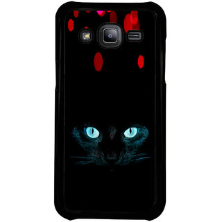 ifasho shining eyes of cat Back Case Cover for Samsung Galaxy J2