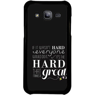 ifasho quotes on success Back Case Cover for Samsung Galaxy J2
