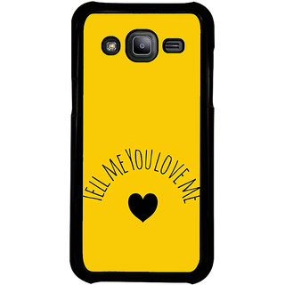 ifasho Love  Quotes  Back Case Cover for Samsung Galaxy J2