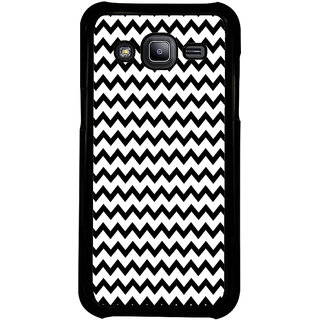 ifasho Animated Pattern of Chevron Arrows royal style Back Case Cover for Samsung Galaxy J2