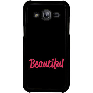 ifasho Bautiful word Back Case Cover for Samsung Galaxy J2