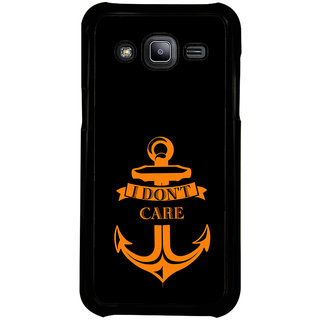 ifasho I dont care quotes Back Case Cover for Samsung Galaxy J2