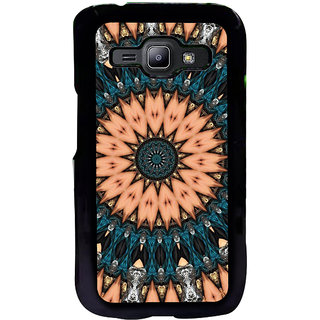 ifasho Animated Pattern design colorful flower in royal style Back Case Cover for Samsung Galaxy J1