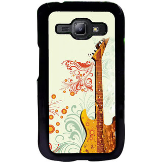 ifasho Modern Art Design Pattern Music Instrument Guitar Back Case Cover for Samsung Galaxy J1