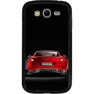 ifasho Red Stylish Car from back side Back Case Cover for Samsung Galaxy Grand