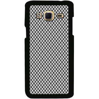 ifasho Design lines pattern and square pattern Back Case Cover for Samsung Galaxy J3