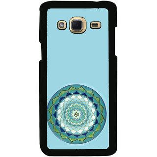 ifasho Modern Art Om design pattern in kundli Back Case Cover for Samsung Galaxy J3