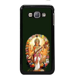 ifasho Goddess Saraswati  Back Case Cover for Samsung Galaxy J1 (2016 Edition)
