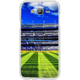 ifasho Football stadium field Baseball field Back Case Cover for Samsung Galaxy J5