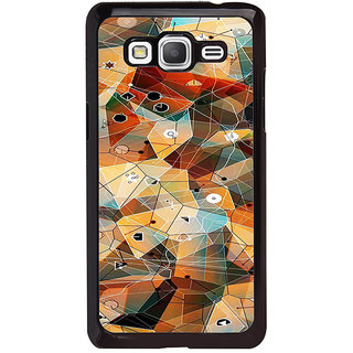 ifasho Modern Theme of royal design in colorful pattern Back Case Cover for Samsung Galaxy Grand Prime