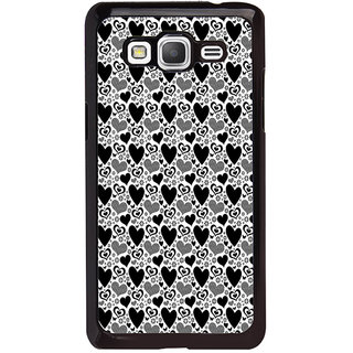 ifasho Modern Art Design Pattern with Lot Of small heart Back Case Cover for Samsung Galaxy Grand Prime