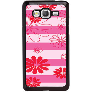 ifasho Modern Art Design animated cloth Pattern of flower Back Case Cover for Samsung Galaxy Grand Prime