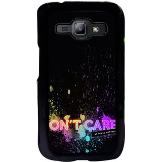 ifasho dont care quotes Back Case Cover for Samsung Galaxy J1