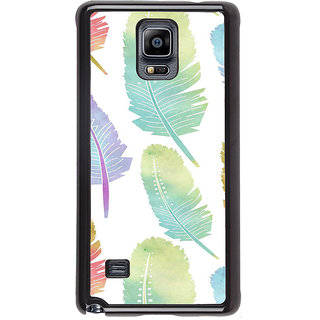 ifasho Animated  Feather Back Case Cover for Samsung Galaxy Note 4