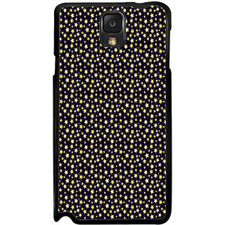 ifasho Animated Pattern colourful littel stars Back Case Cover for Samsung Galaxy Note 3