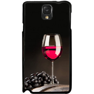 ifasho Wine at Dine Back Case Cover for Samsung Galaxy Note 3