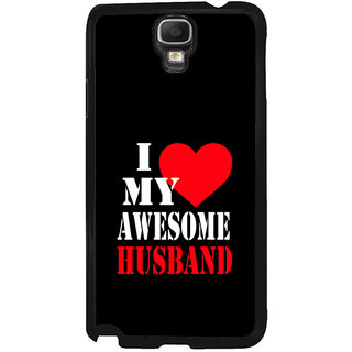 ifasho I love my husband quotes Back Case Cover for Samsung Galaxy Note 3 Neo