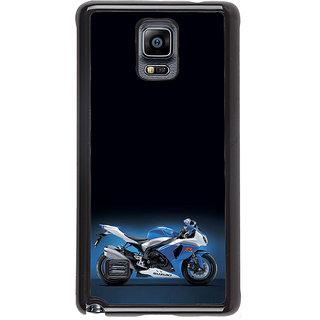 ifasho Bikoholic Sport Bike Back Case Cover for Samsung Galaxy Note 4