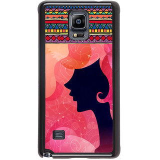 ifasho fashion Girls Back Case Cover for Samsung Galaxy Note 4