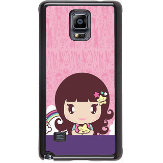 ifasho Cute Baby Back Case Cover for Samsung Galaxy Note 4