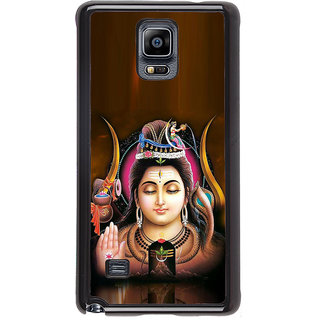 ifasho Lord siva Back Case Cover for Samsung Galaxy Note 4