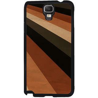 ifasho Design lines of different colours pattern Back Case Cover for Samsung Galaxy Note 3 Neo