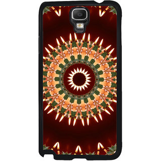 ifasho Animated Pattern design colorful flower in royal style Back Case Cover for Samsung Galaxy Note 3 Neo