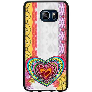 ifasho Modern Art Design Pattern with Heart and design colorful Back Case Cover for Samsung Galaxy Note 5
