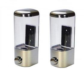 Push Button Liquid Soap, Lotion, Shampoo Dispenser- Pack of 2