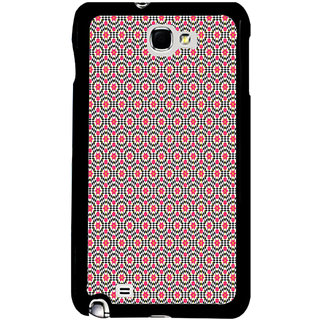 ifasho Animated Pattern design many small flowers  Back Case Cover for Samsung Galaxy Note 2