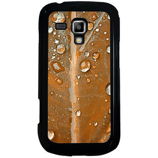 ifasho water Drop on brown leaf Back Case Cover for Samsung Galaxy S Duos S7562