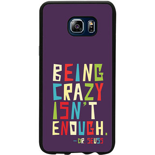 ifasho Crazy Quotes Back Case Cover for Samsung Galaxy Note 5