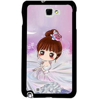 ifasho Princess Girl Back Case Cover for Samsung Galaxy Note 2